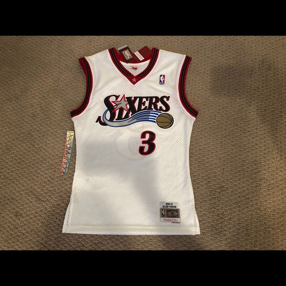 20a1443c5 Allen Iverson Sixers Mitchell Ness Swingman Jersey